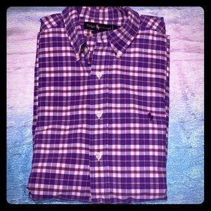 Ralph Lauren Long sleeve button front 17/36